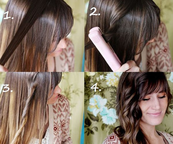 Как сделать объемные локоны на длинные волосы, Секреты красоты и здоровья женщины