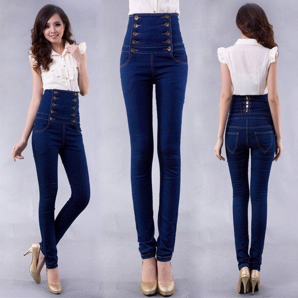 Кому идут джинсы с завышенной талией