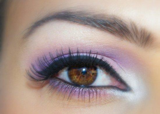 Макияж для темных глаз и темных волос