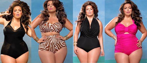 Модные и стильные купальники больших размеров