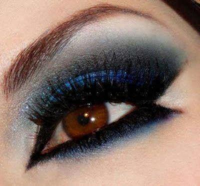Правильный макияж для карих глаз (пошаговое выполнение)