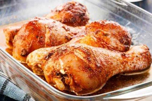 Сколько готовить куриные ножки в духовке