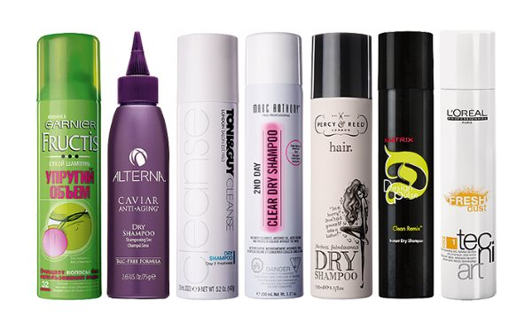 Сухой шампунь для волос: отзывы, какой лучше