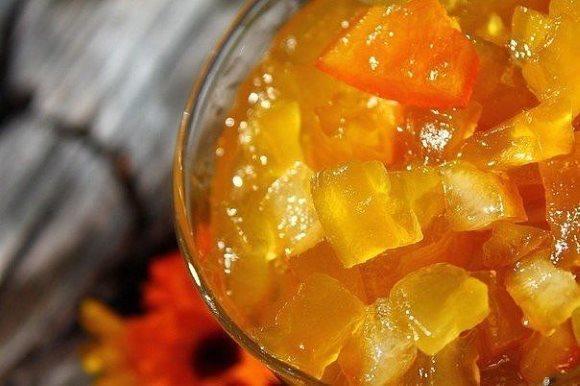 Варенье из кабачков с лимоном и имбирем