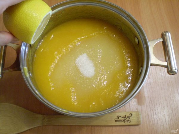 Яблочное варенье с апельсином и лимоном (рецепт)