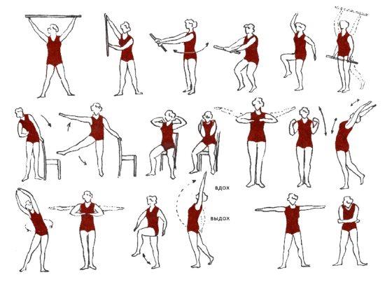 Гимнастика для восстановления после операции на груди