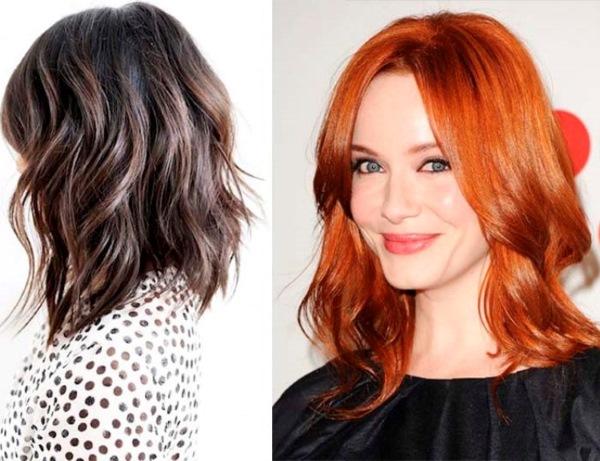 Стрижки на средние волосы 2019 женские. Фото. Модные, красивые, не требующие укладки