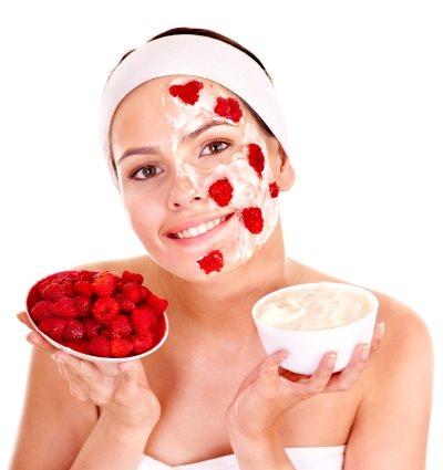 Малина для лица: рецепты масок домашней косметологии