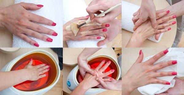 Парафинотерапия. Как делать ванночки для рук, ног, лица в домашних условиях. Что такое жидкий косметический холодный парафин и как им пользоваться, наборы для аппликации