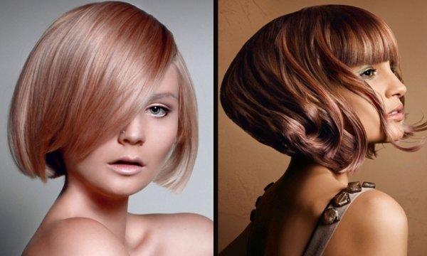 Стрижки на средние волосы 2017 женские + Фото