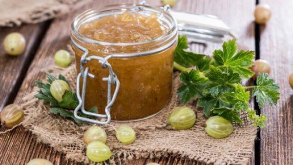 Варенье из крыжовника - рецепты: пятиминутка с лимоном, Секреты красоты и здоровья женщины
