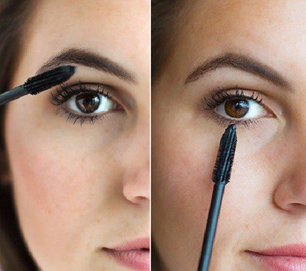 Дневной макияж с завершающим штрихом - тушью.