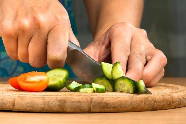 Нарезание овощей