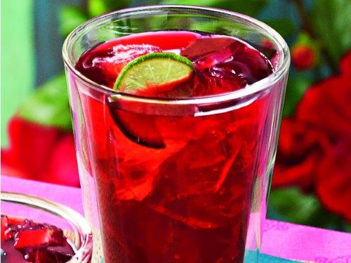 Чай каркаде со льдом