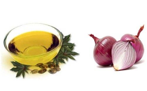 Касторовое масло, лук
