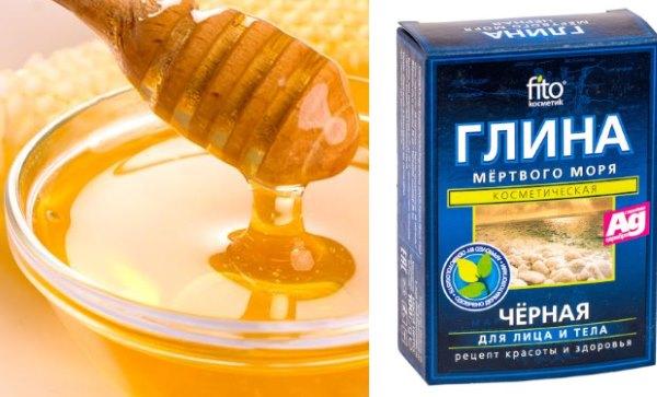 Мед и черная глина