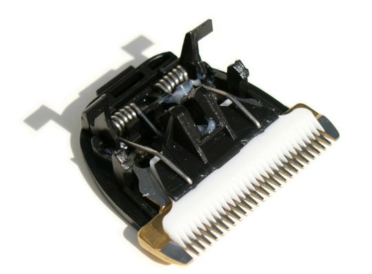 Керамические ножи в машинке для стрижки волос
