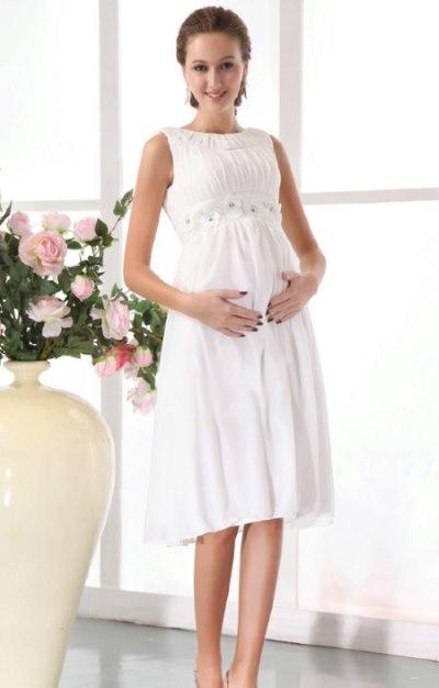 Как выбрать свадебное платье будущей маме