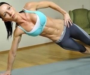 Планка: упражнение для стройной фигуры. Фото до и после, польза и вред, схема на месяц