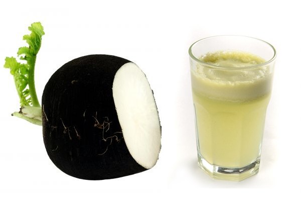 Черная редька и ее сок