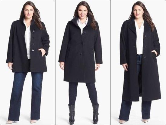 Вариации длины пальто