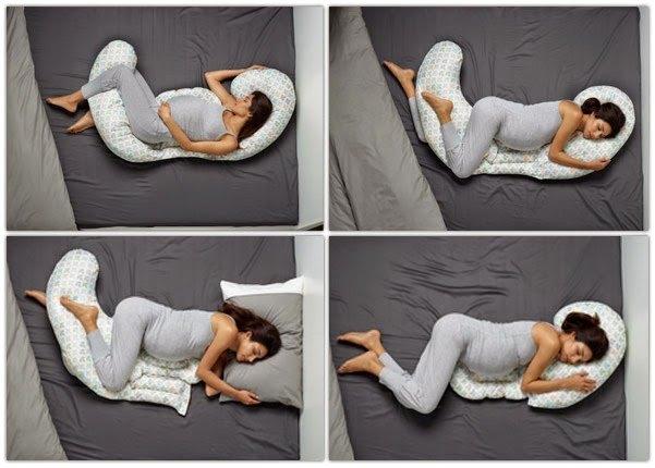 как правильно спать на подушке для беременных