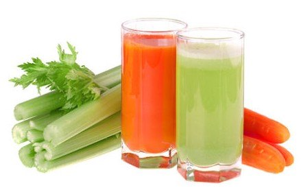 сок из моркови и сельдерея
