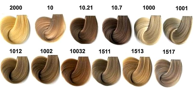 Эстель - палитра цветов. Профессиональная краска для волос Делюкс ... 4c8f708f893fc