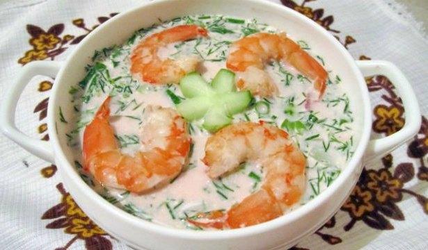 Холодные супы на лето