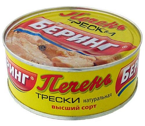 Печень трески - полезные свойства, вред, калорийность для мужчин, женщин