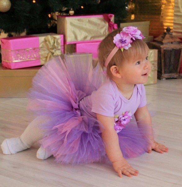 Пошив юбки из фатина для девочки своими руками. Инструкция и материалы