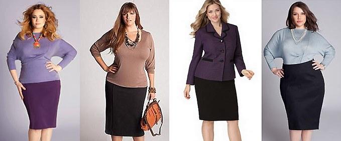 Стильные юбки большого размера: правила выбора. Советы модельеров