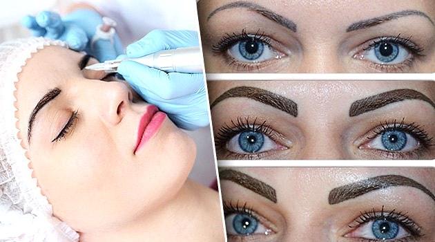 Как снять отек после перманентного макияжа бровей. Методы и средства