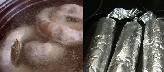 Как сделать колбасу в домашних условиях из курицы, свинины, говядины, лосятины, в кишках и без, с гречкой, рецепты с фото