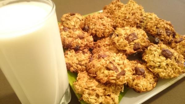 Овсяное печенье без масла из овсяных хлопьев рецепт пошагово