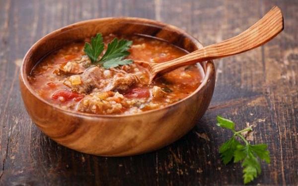 Суп харчо. Рецепты приготовления пошагово с фото: из баранины, говядины, курицы, свинины, с рисом, в мультиварке