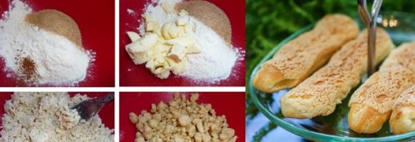Заварное тесто для эклеров. Рецепты от Юлии Высоцкой, классический, по ГОСТу, на растительном, подсолнечном масле. Как приготовить пошагово с фото