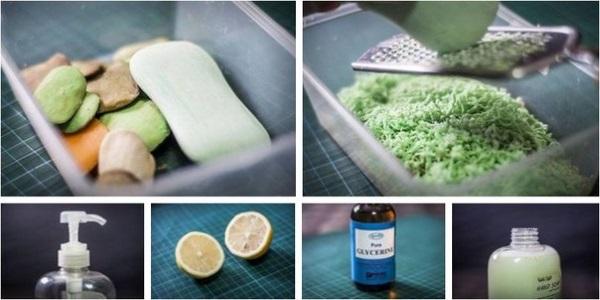 Как сделать из обмылков жидкое