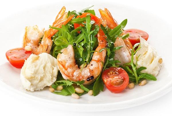 Руккола салат. Польза и вред для мужчин, женщин, при беременности. Рецепты приготовления с фото: простой с креветками, сыром, помидорами, тунцом, кедровыми орешками