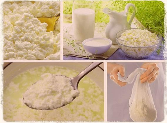 Творог из молока в домашних условиях. Рецепты, как приготовить с фото пошагово: с лимоном, кефиром, хлористым кальцием