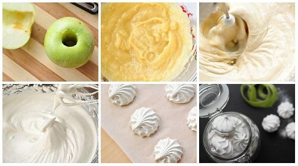 Зефир в домашних условиях. Рецепт с фото пошагово: диетический с яблоками, агар-агаром, желатином, с белком, без яиц