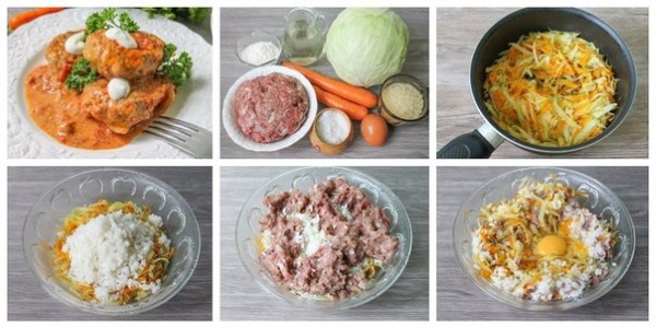 Ленивые голубцы. Как приготовить, рецепты с фото пошагово в духовке, мультиварке, картрюле, на сковороде, с рисом, фаршем, капустой