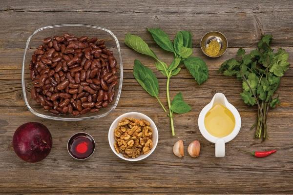 Лобио из красной фасоли: классический рецепт с мясом по-грузински, орехами, курицей, томатной пастой. Как приготовить пошагово