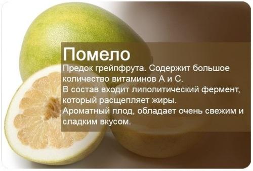 Полезные свойства фрукта помело, калорийность. Как выбрать, чистить, правильно употреблять