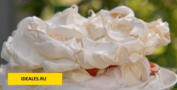 Десерт «Анна Павлова». Рецепт классический, от Юлии Высоцкой, Александра Селезнева, Джейми Оливера, с маскарпоне, заварным кремом