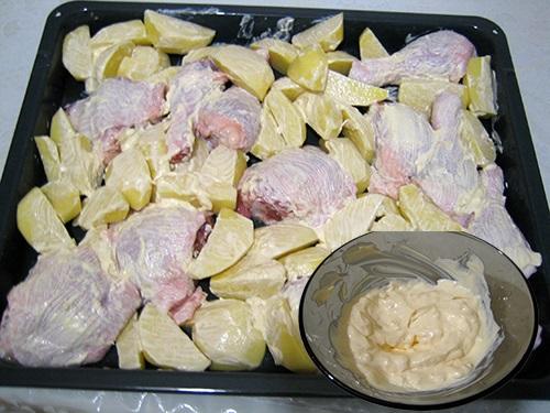 Курица с картошкой в духовке и мультиварке. Рецепты, как готовить пошагово с фото