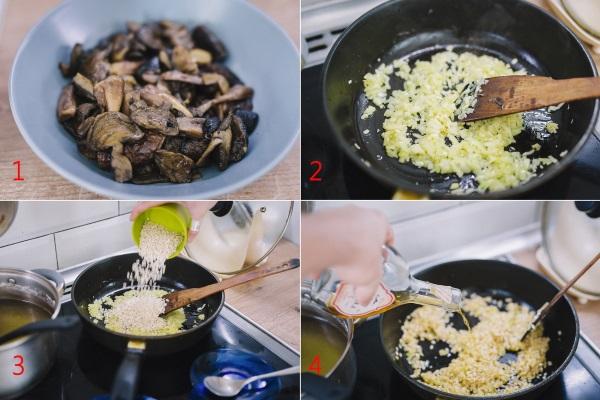 Ризотто. Рецепт классический с грибами, овощами, курицей, морепродуктами, креветками, кальмарами. Как готовить пошагово с фото