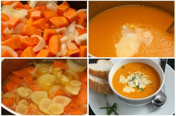 Суп пюре из шампиньонов со сливками. Рецепт классический со сливками, с плавленным сыром, картофелем, цветной капустой
