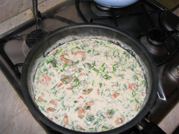 Паста с креветками в сливочном соусе. Рецепты с вином, луком, сыром, помидорами, рыбой, грибами, курицей