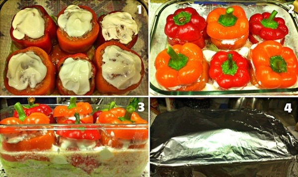 Как приготовить фаршированный перец с мясом и рисом. Рецепты с фото в кастрюле, духовке, мультиварке, с фаршем, овощами, сыром, творогом